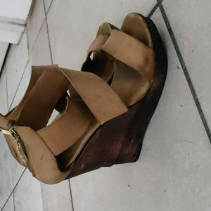 DVF Leather Sandals